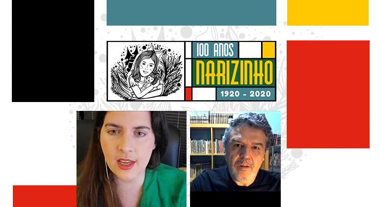 """Em live, Magno Silveira revela curiosidades sobre a exposição """"Ilustradores originais de 'A Menina do Narizinho Arrebitado'"""""""