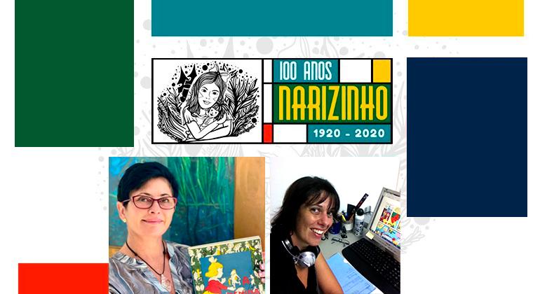 Em live, Carol Pimentel conta sobre o projeto 100 anos de Emília