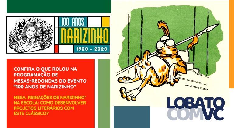 Reinações de Narizinho' na Escola: como desenvolver projetos literários com este clássico?
